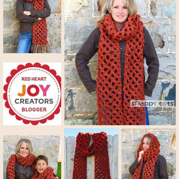Pattern: A Sweet Super Scarf You Will Love