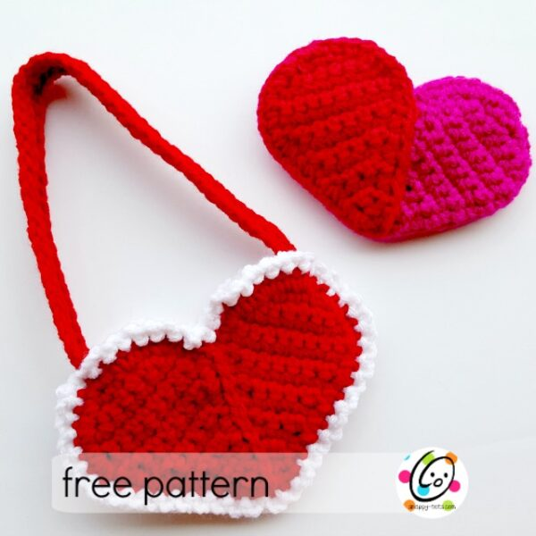 Pattern: Heart Pocket and Purse