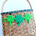 Pattern: Shamrock Garland