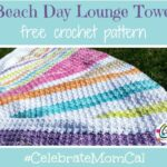 Pattern: Beach Day Lounge Towel