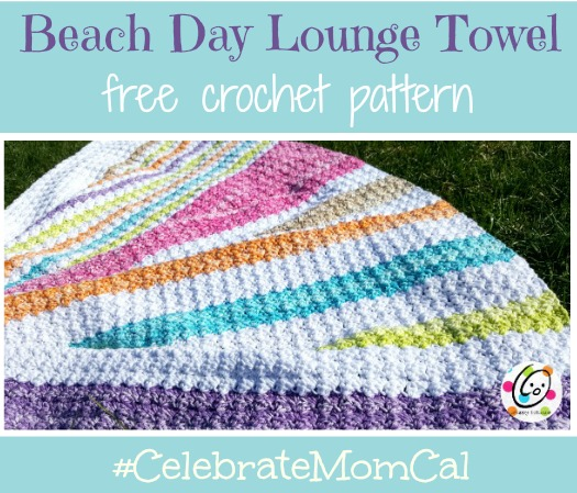 Pattern: Beach Day Lounge Towel