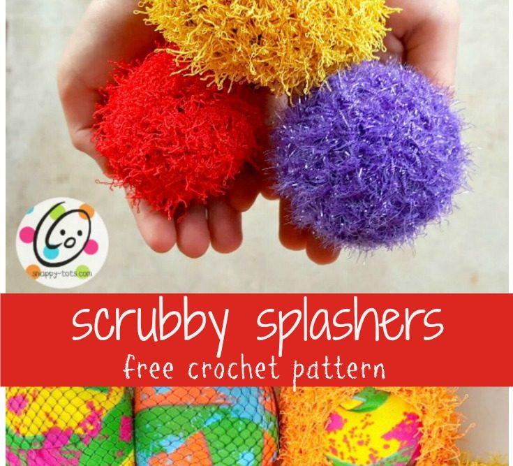 Pattern: Scrubby Splash Balls