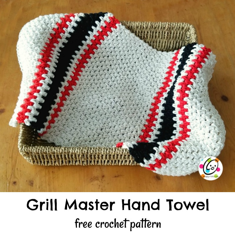 Free Pattern Grill Master Hand Towel Snappy Tots